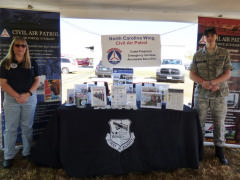 Recruiting booth